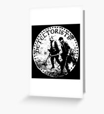 Detectorists - DMDC Anglo Saxon coin Greeting Card