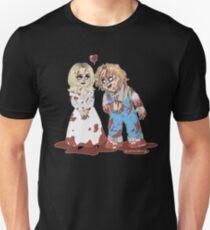 Chucky and Tiffany  Unisex T-Shirt