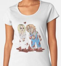 40a8f9bea Chucky and Tiffany Premium Scoop T-Shirt