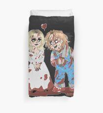 Chucky and Tiffany  Duvet Cover