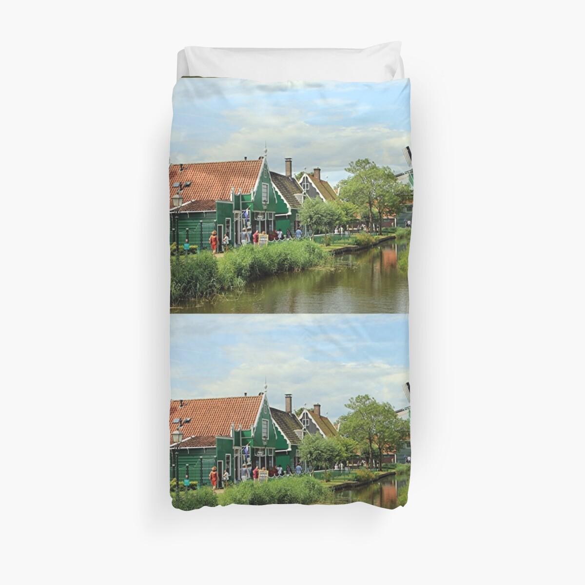 Dutch windmill village, Holland by FranWest