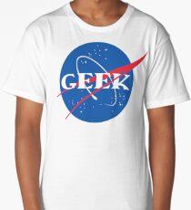 GEEK NASA Parody Meatball Long T-Shirt