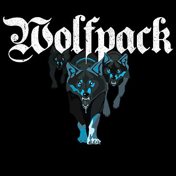 Wolfpack Wolves by dtkindling
