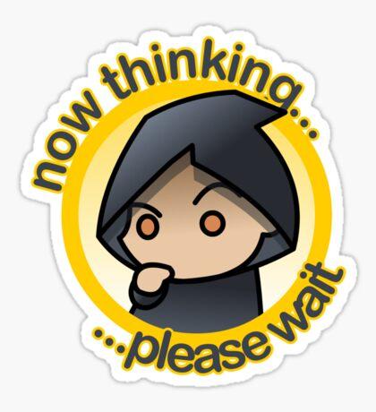 Thinking... - c&txt Sticker