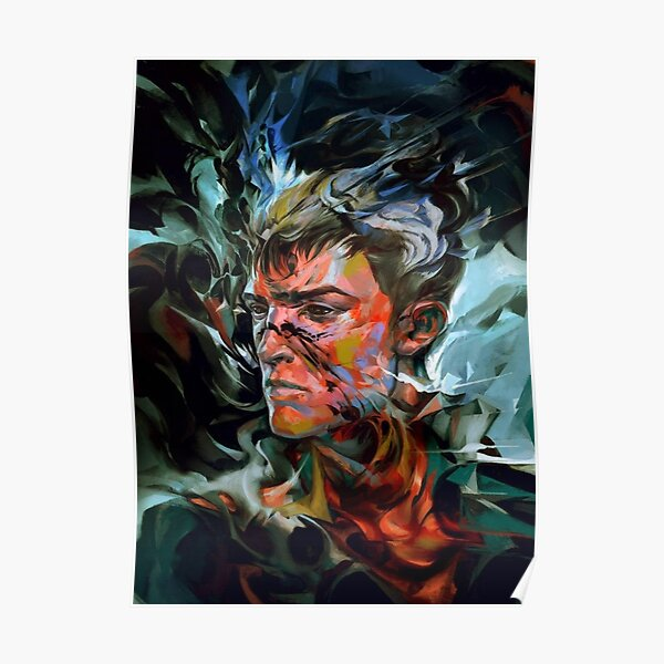 His Mark Upon My Flesh (Delilah Copperspoon Painting) Poster