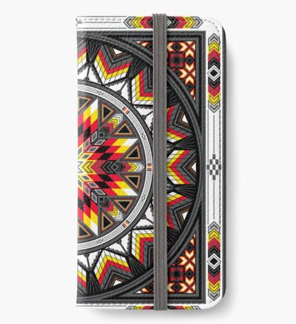 Sacred Places Red iPhone Wallet