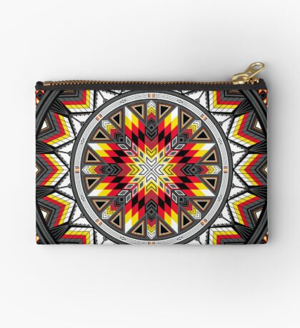 Sacred Places Red Studio Pouch