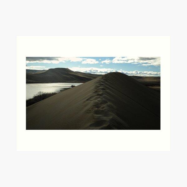 Traversing the tallest Dune Art Print