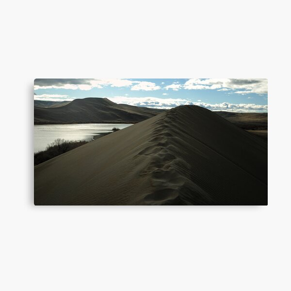 Traversing the tallest Dune Canvas Print
