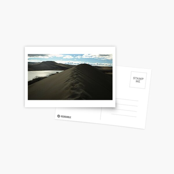 Traversing the tallest Dune Postcard