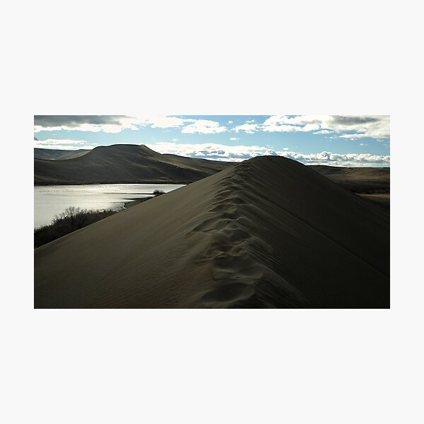 Traversing the tallest Dune Photographic Print