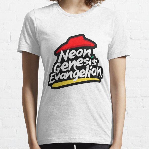 Neon Genesis Evangelion x Pizza Hut Essential T-Shirt