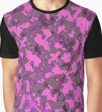 CAMOUFLAGE PINK Graphic T-Shirt