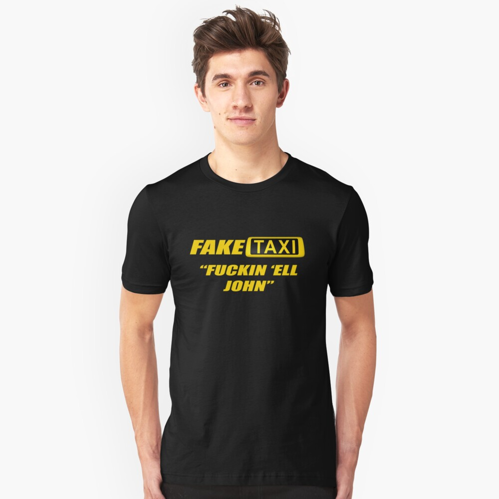Fake Taxi Unisex T Shirt By Tomcolling77 Redbubble