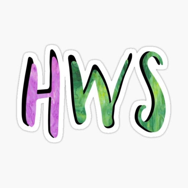 HWS Sticker