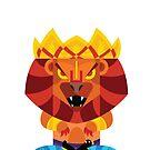 Narasimha Boxdoll - The Man Lion Avatar by artkarthik