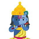 Krishna Boxdoll by artkarthik