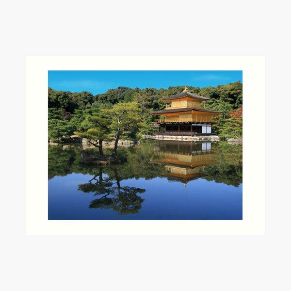 Kinkakuji Art Print