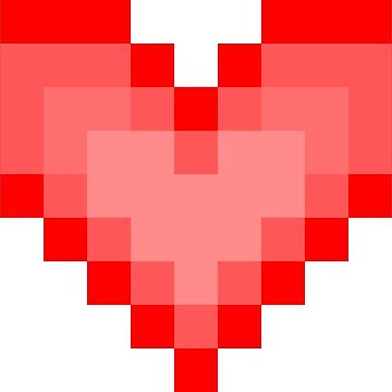 Pixel Heart by dripcoffee