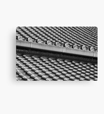 Roof Tiles Canvas Print