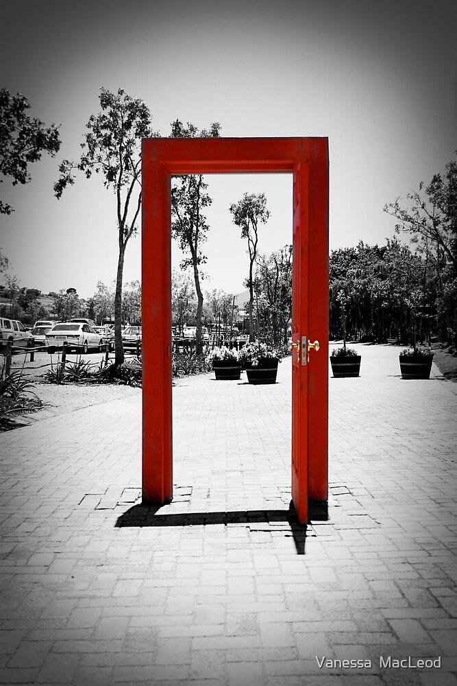 Red Door by Vanessa  MacLeod