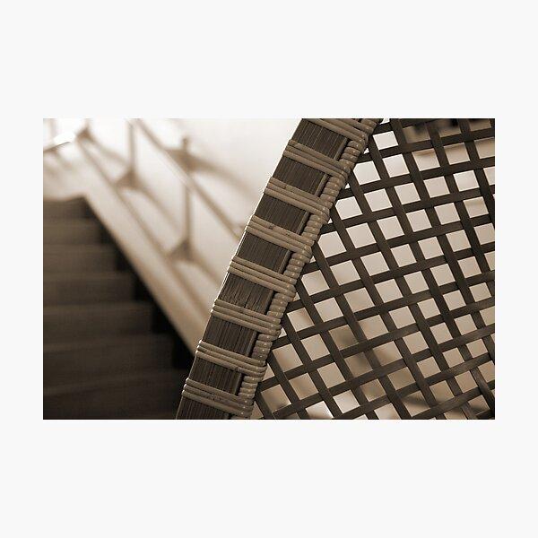 Bamboo Curve Photographic Print