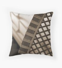 Bamboo Curve Throw Pillow