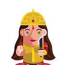 Durga-Goddess of Power Boxdoll by artkarthik