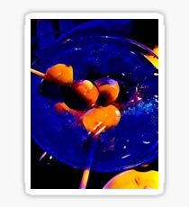"""The Blue Martini"" Original Photography by Tony DuPuis  Sticker"