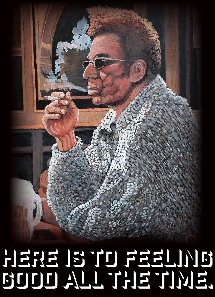Cosmo Kramer by Tom Roderick
