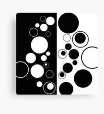 Geometric Reflections Canvas Print