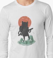 Fin The Giant  Long Sleeve T-Shirt