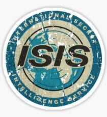 International Secret Intelligence Service Sticker