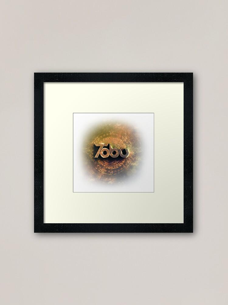 Alternate view of Golden Tobu Framed Art Print