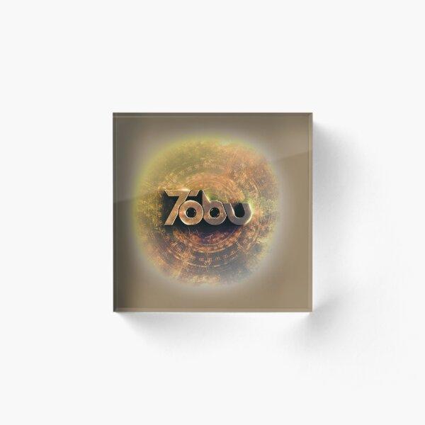 Golden Tobu Acrylic Block