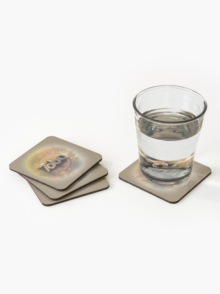 Alternate view of Golden Tobu Coasters (Set of 4)