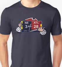 NE 3 ATL 28 Ultimate Comeback  Slim Fit T-Shirt