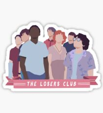 The Losers Club / IT Sticker