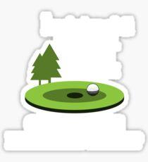Goft Gift | golf gifts for men | drinking games shirt | golf lover gift | drinking shirt | gifts for golfers | beer gifts men | beer gift for dad Sticker