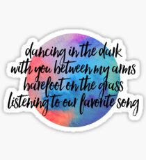 dancing in the dark Sticker