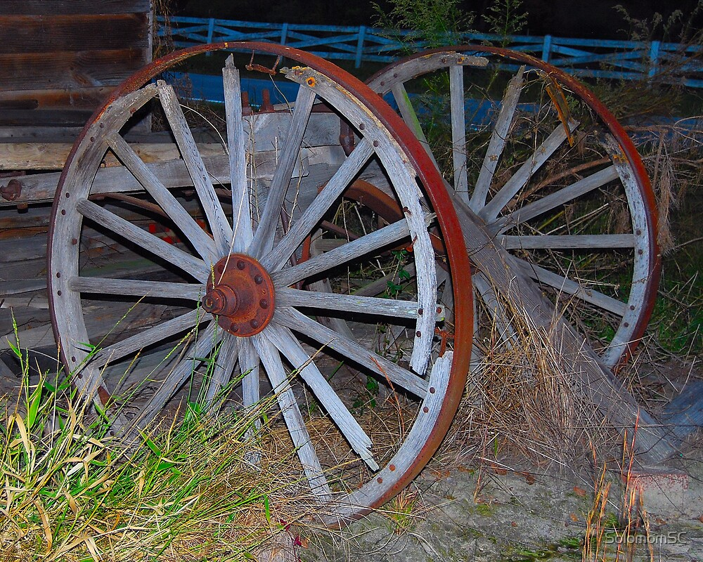 Old Wheels (for Michael) by SolomomSC