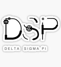 Delta Sigma Pi Gears Sticker