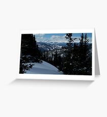 Back Country Greeting Card