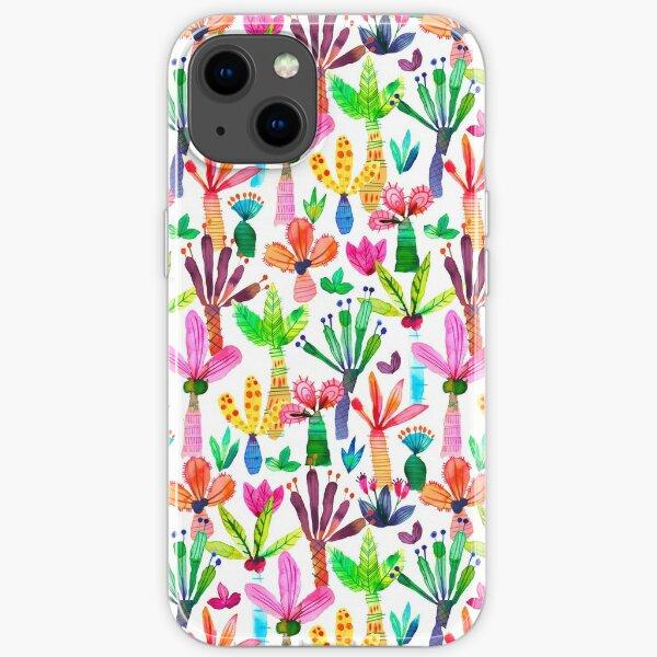 iPhone Hüllen Muster Dschungel tropischen Garten - Spaß Palmen Muster iPhone Flexible Hülle
