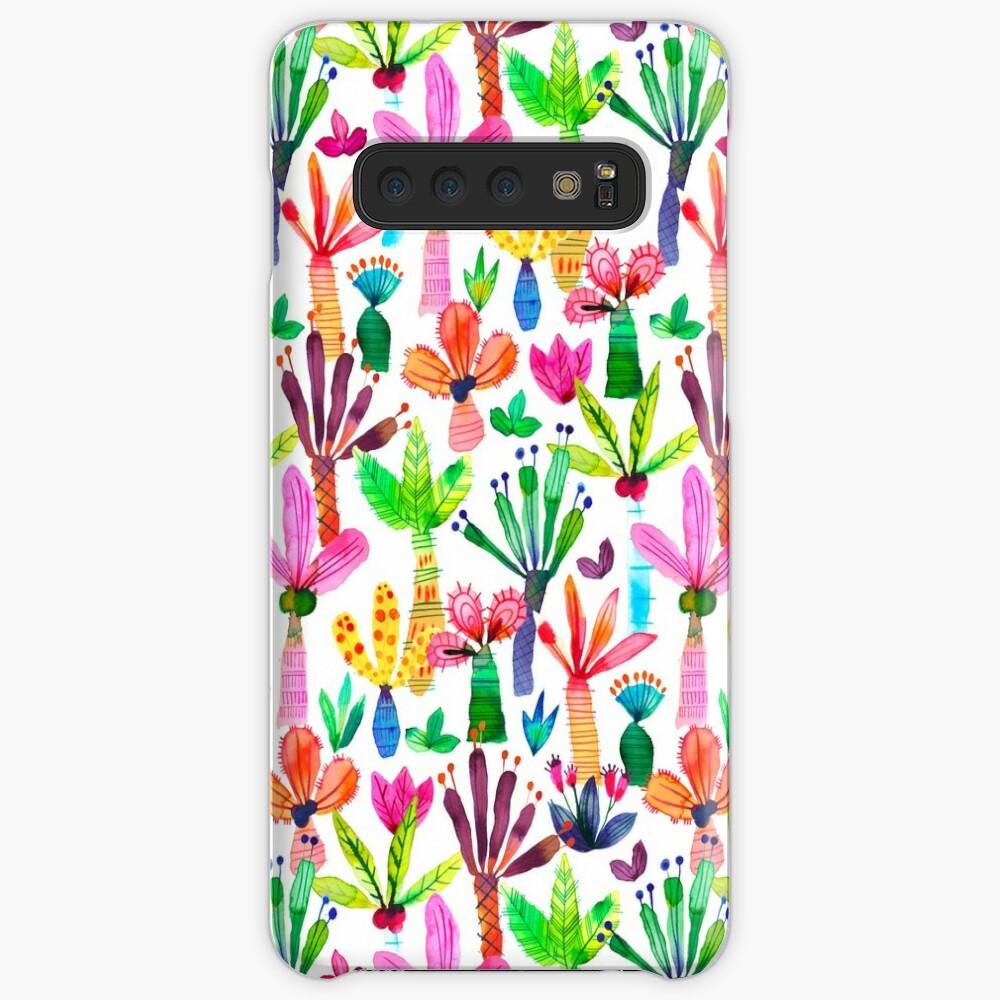 Jungle tropical garden - Fun palms pattern Case & Skin for Samsung Galaxy
