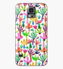Jungle tropical garden - Fun palms pattern Case/Skin for Samsung Galaxy