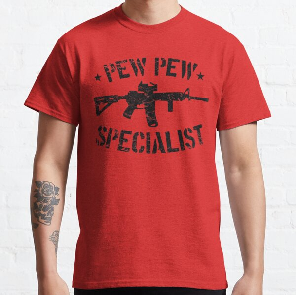 Pew Pew Specialist Classic T-Shirt