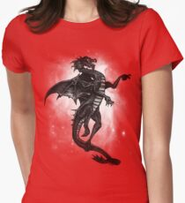 Black Dragon Tee Womens Fitted T-Shirt