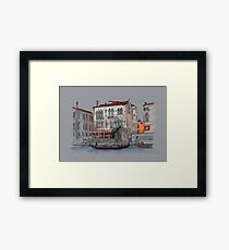 Italian evening Framed Print