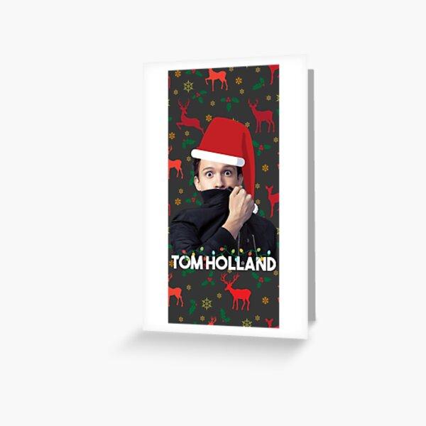 Festive tom holland Greeting Card